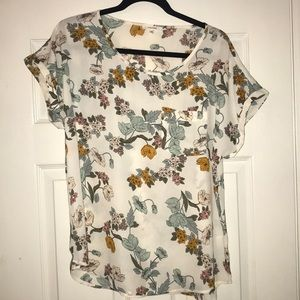 Floral Maurice's Blouse